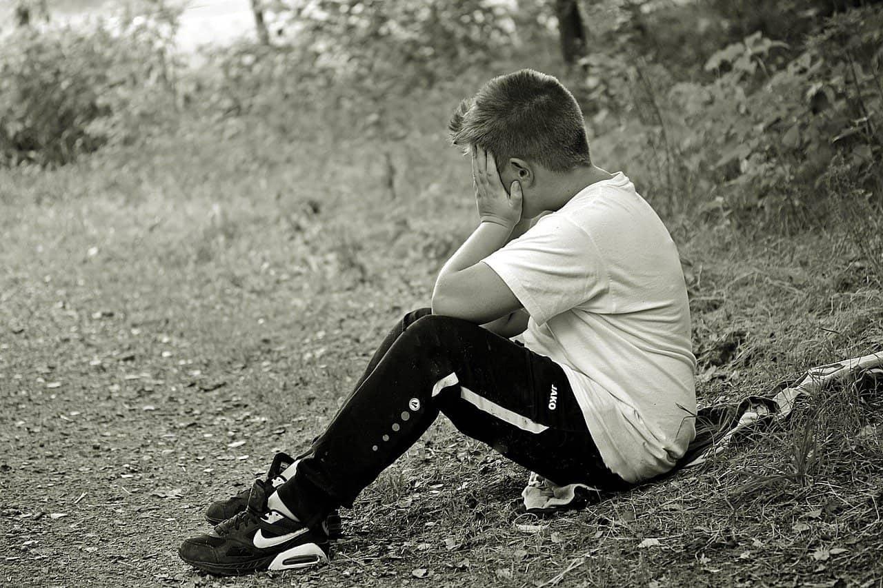 Les tristesses de l'enfance